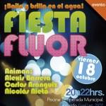 ¡Piscina brillará con Fiesta Flúor!