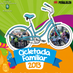 Cicletada Familiar vuelve el domingo 27 de octubre
