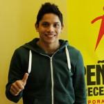 Diego Carquín ya está en Athletes USA