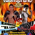 Kickboxing de nivel internacional llega al Sergio Livingstone