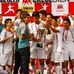 Antupirén y Altamira se quedaron con el Interescolar de Fútbol 7