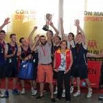 Marmotas B.C. y Polideportivo A se quedaron con el Oro del básquetbol comunal