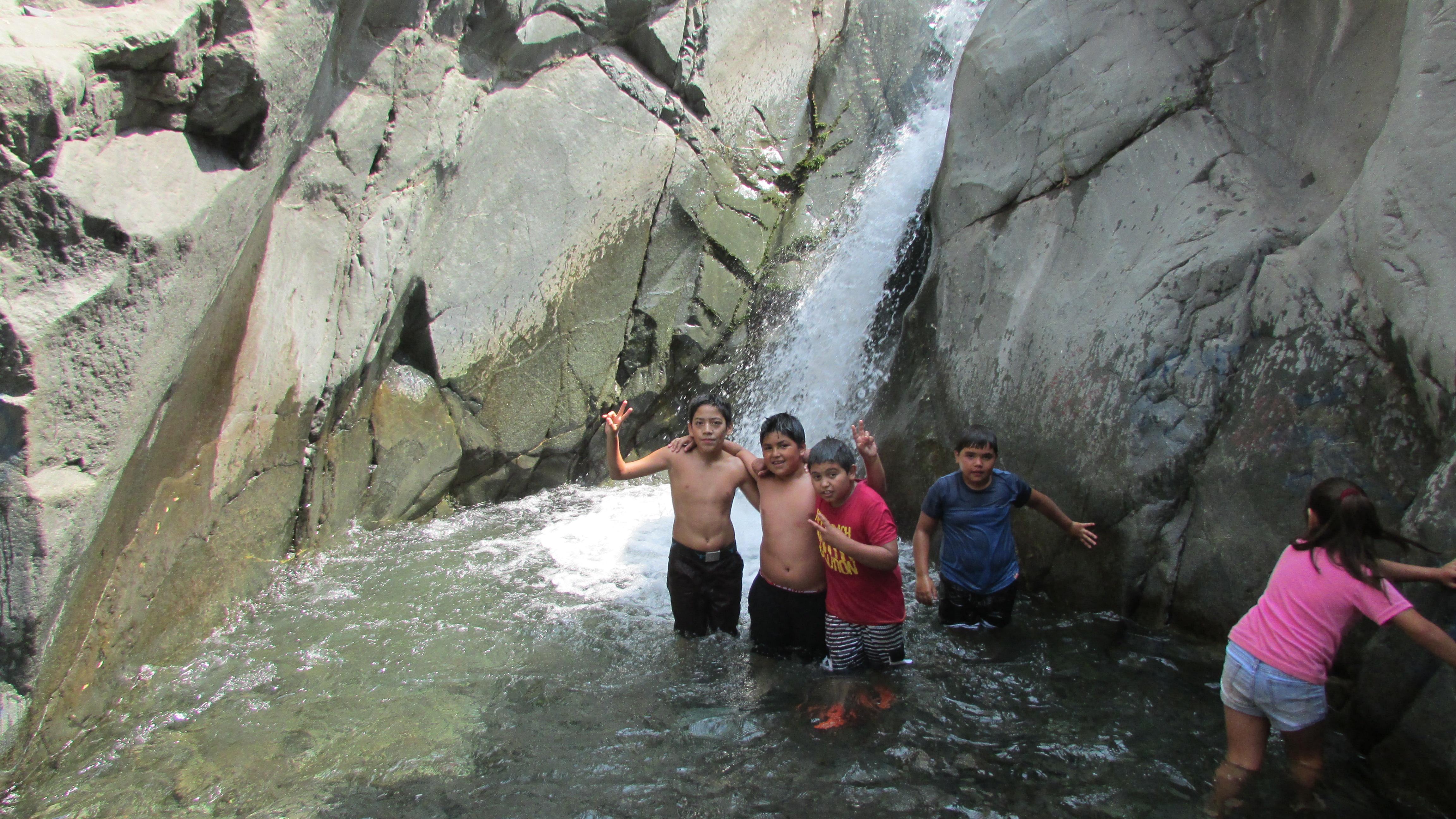 Cascada de la Quebrada de Macul, Peñalolén