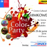 Aviso: Por Color Party estacionamientos municipales estarán cerrados desde las 16 hrs.