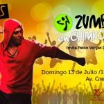 Zumba en Chimkowe será el domingo 13 de julio
