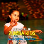 Nuevo taller Zumba Kids hará temblar a Chimkowe