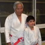 Taller de Judo recibió connotada visita desde Japón