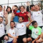 En Peñalolén se realizó partido de fútbol por la Inclusión
