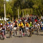 Cicletada Familiar llenó calles de buena onda