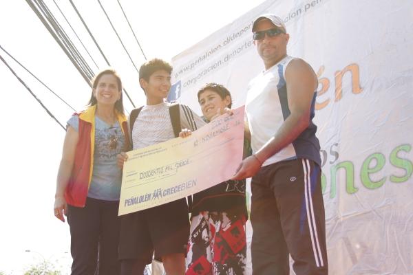 Colegio Alicura, ganador del Tramo A