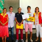Tenista Destacado de Peñalolén Joan Sanson ganó beca para estudiar y competir en EE.UU