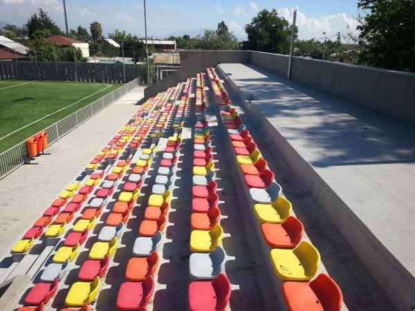622 butacas fueron instaladas para permitir que los espectadores disfruten cómodamente de los espectáculos deportivos.