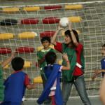 Nuevo taller de Hándbol en el Polideportivo Sergio Livingstone