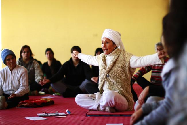 Kundalini Yoga, con Marina Bravo.