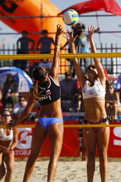 Una de las escuelas de Vóleibol Playa estará a cargo de la selccionada nacional Francisca Rivas.