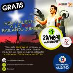 Zumba y Copa América: ¡Todos a alentar a la Roja!