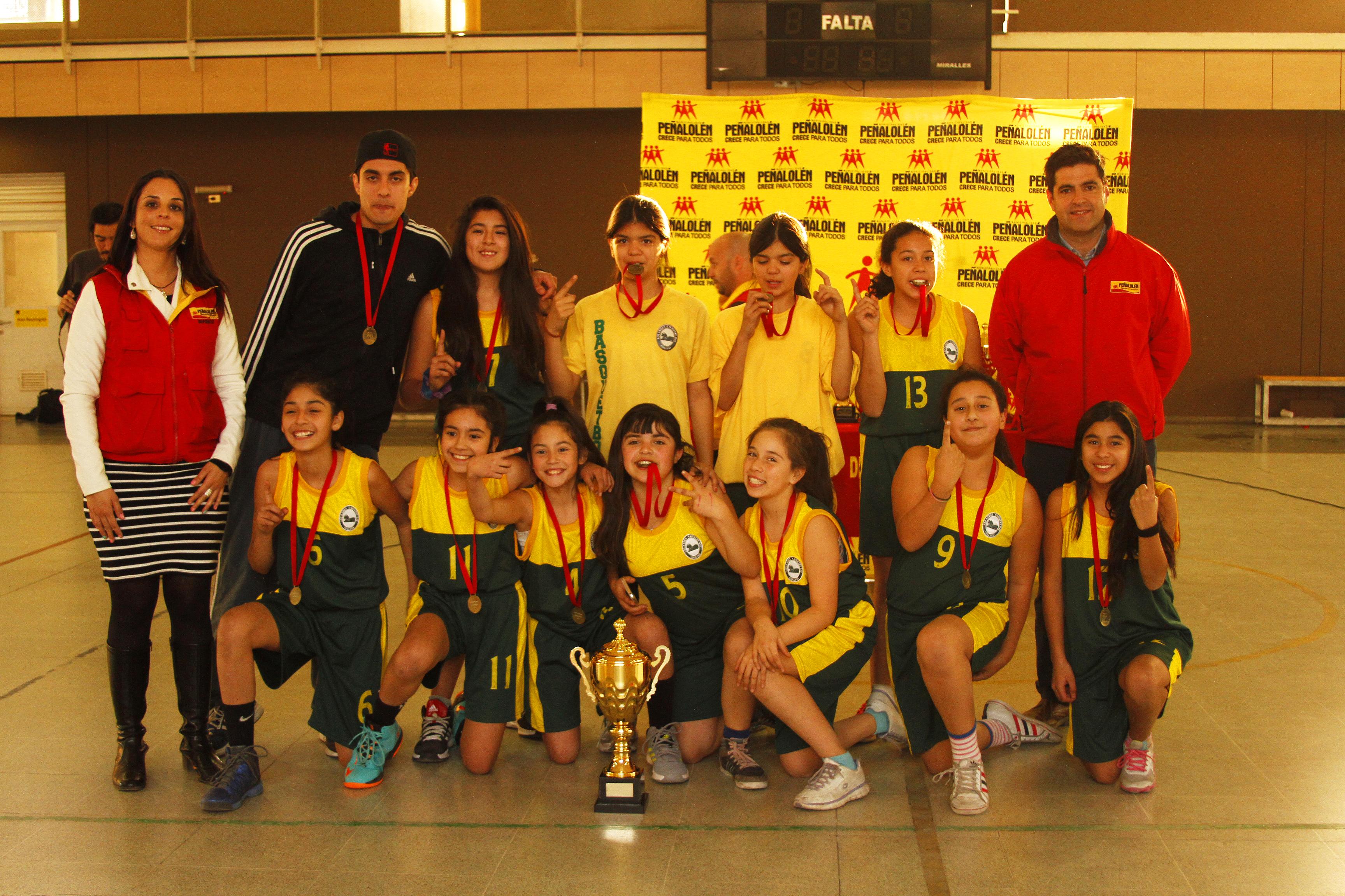 Los Andes Country Day , Campeón Damas Sub 14