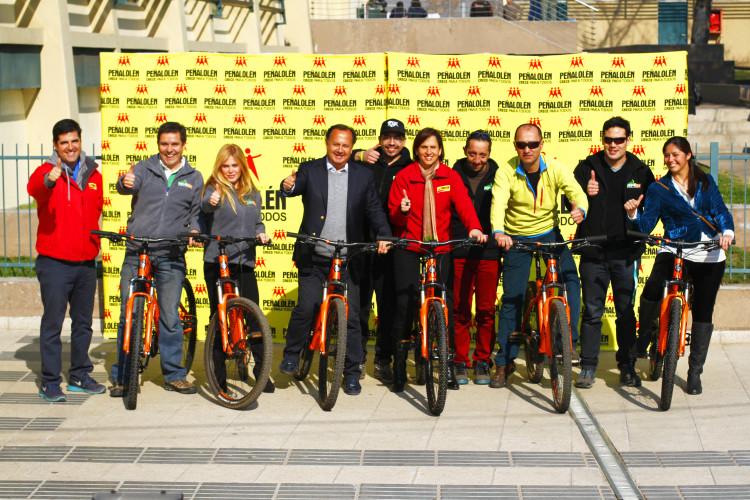 El pasado jueves 16 de julio se oficializó la entrega de las 6 bicicletas Vergamont como parte de la alianza  entre la Corporación Municipal de Deportes de Peñalolén y Todo Bikes.