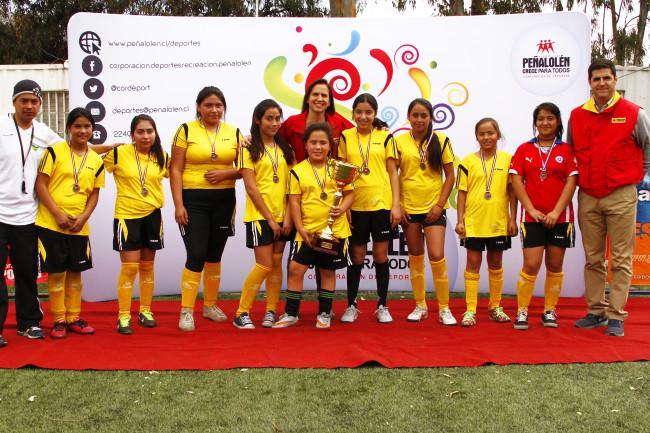 Unión Nacional Árabe, Campeón Damas Sub 14.
