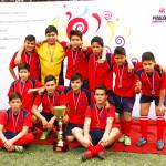 Welcome School, Unión Nacional Árabe y Antonio Hermida Fabres, campeones del Interescolar de Fútbol 7