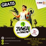 Zumba en Chimkowe de octubre será día sábado 17