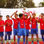 Eduardo de la Barra, Pumahue y Altamira fueron los campeones del fútbol escolar