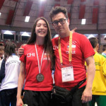 Peñalolina consigue Medalla de Plata en Sudamericano TKD