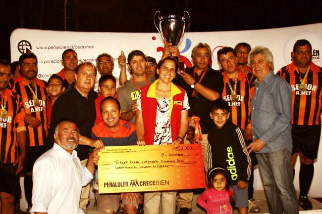 Adolfo Nef, Campeón Categoría 40 años
