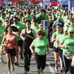 Más de 1.500 runners pintaron las calles de verde en la 13a. Corrida de Peñalolén