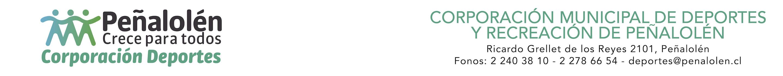 Corporación Municipal de Deportes y Recreación de Peñalolén