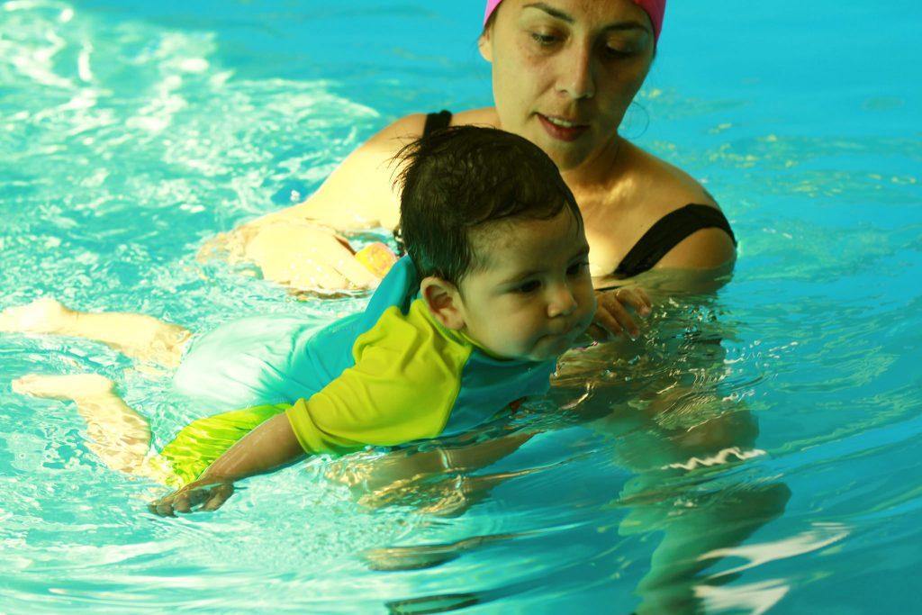 matronatación natación para bebés peñalolén