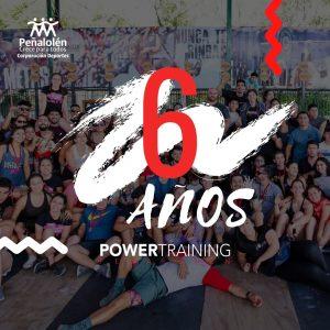 aniversario 6 powertraining peñalolén